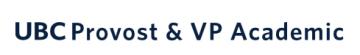 UBC Provost & VP Academic